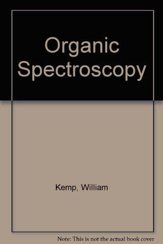 9780333519530: Organic Spectroscopy