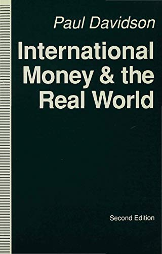 9780333521540: International Money and the Real World