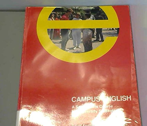 9780333522332: Campus English: Student's Book