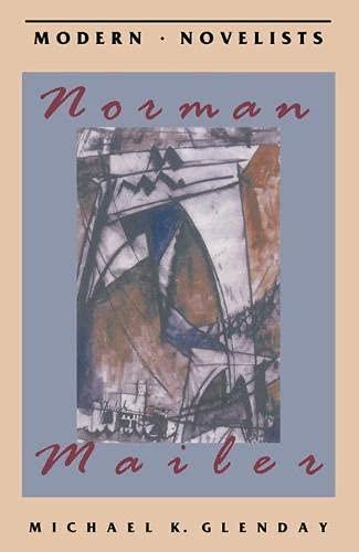 9780333522622: Norman Mailer (Macmillan Modern Novelist)
