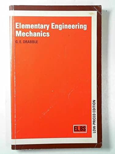 9780333525371: Elementary Engineering Mechanics (English Language Book Society Student Editions)