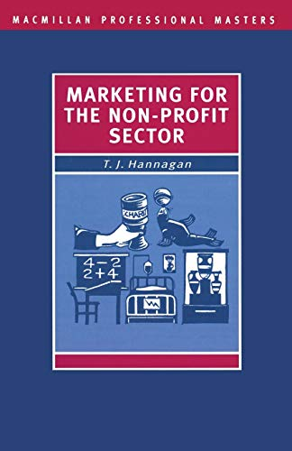 9780333525821: Marketing for the Non-Profit Sector (Professional Master)