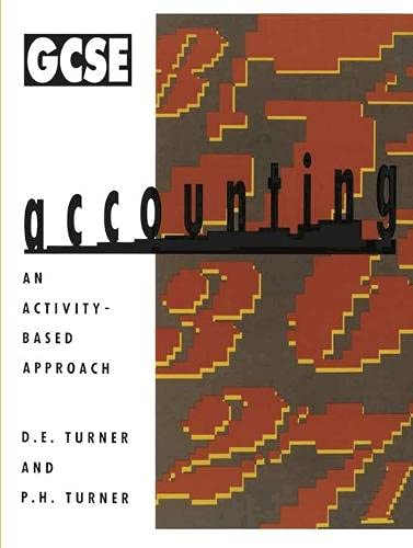 General Certificate of Secondary Education Accounting: Turner, D.E. and