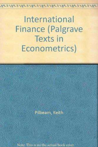 9780333531303: International Finance