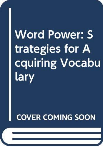 9780333531815: Word Power: Strategies for Acquiring Vocabulary