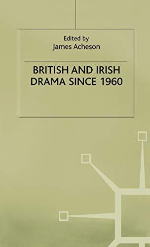9780333532591: British and Irish Drama since 1960