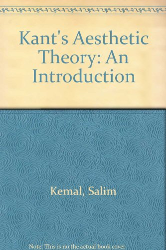 9780333535547: Kant's Aesthetic Theory: An Introduction