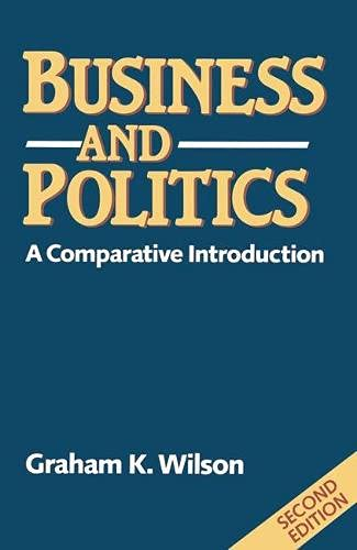 9780333535813: Business and Politics: A Comparative Introduction