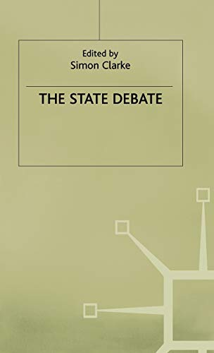 9780333535844: The State Debate