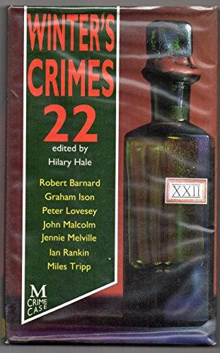 9780333537336: Winter's Crimes: No.22