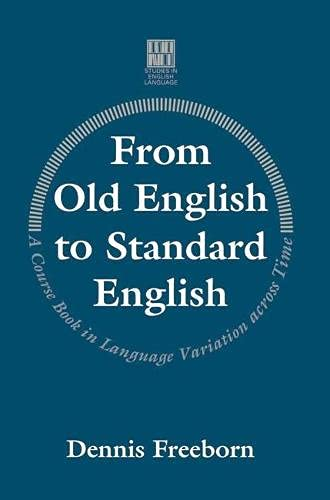 9780333537671: From Old English to Standard English (Studies in English Language)
