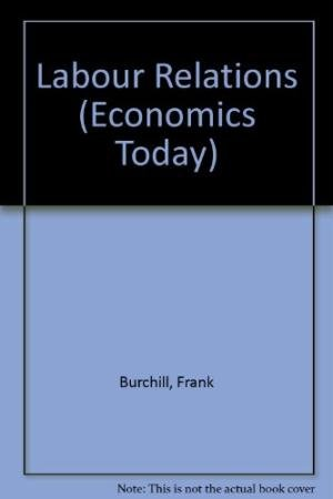 9780333540657: Labour Relations (Economics Today)