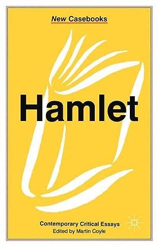 "9780333541289: ""Hamlet"" Contemporary Critical Essays (New Casebooks Series)"