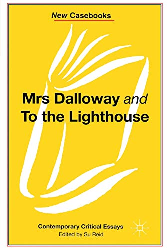 9780333541425: Mrs Dalloway and to the Lighthouse, Virginia Woolf (New Casebooks)