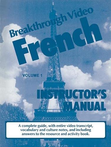 9780333541814: Breakthrough Video French (Breakthrough Videos)