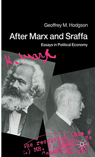 9780333542248: After Marx and Sraffa: Essays in Political Economy