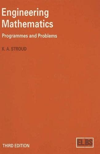 9780333544549: Engineering Mathematics: Programmes and Problems (English Language Book Society Student Editions)
