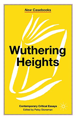 9780333545959: Wuthering Heights: Emily Brontë (New Casebooks)