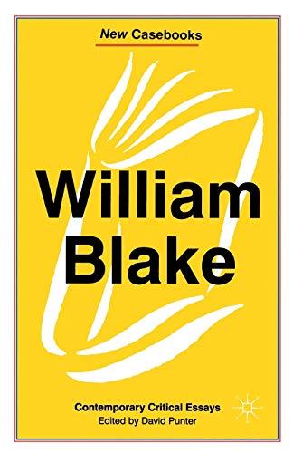critical essays on william blake