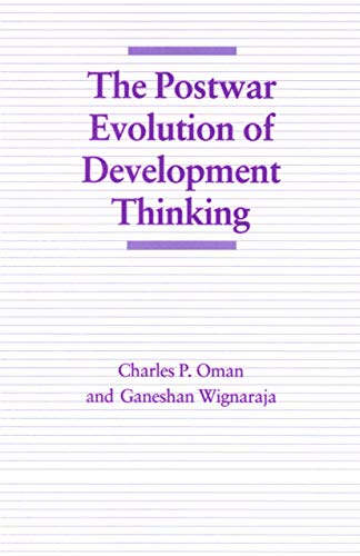 9780333546215: The Postwar Evolution of Development Thinking (Economic Choices before the Developing Countries)
