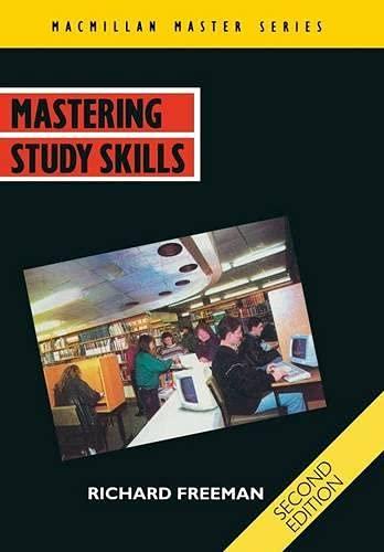 Mastering Study Skills (Macmillan Master): Freeman, Richard B.