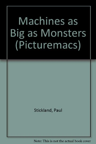 9780333549490: Machines as Big as Monsters (Picturemacs)