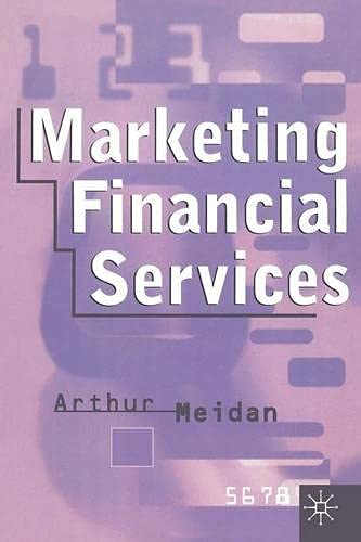 9780333550038: Marketing Financial Services