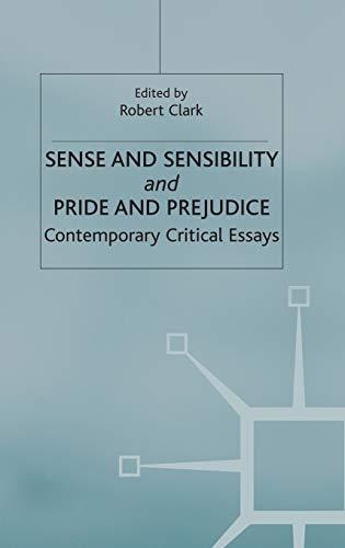 9780333550168: Sense and Sensibility & Pride and Prejudice: Jane Austen (New Casebooks)