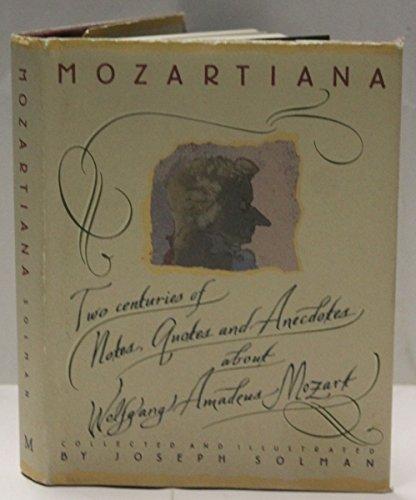 9780333550731: Mozartiana
