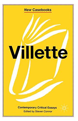9780333551387: Villette (New Casebooks)