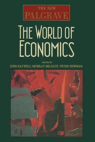 9780333551776: The World of Economics