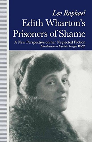 9780333552032: Edith Wharton's Prisoners of Shame: A New Perspective on Her Neglected Fiction