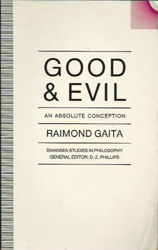 9780333555415: Good and Evil: An Absolute Conception (Swansea Studies in Philosophy)