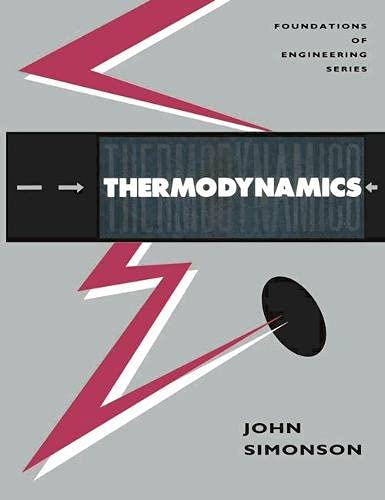 9780333555750: Thermodynamics (Foundations of Engineering)
