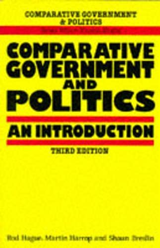 9780333558201: Comparative Government and Politics: An Introduction