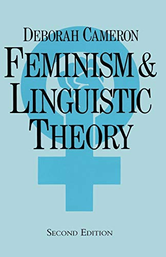 9780333558898: Feminism and Linguistic Theory