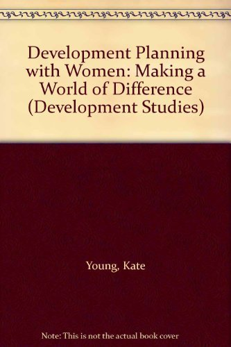 9780333559284: Development Planning with Women: Making a World of Difference (Development Studies)
