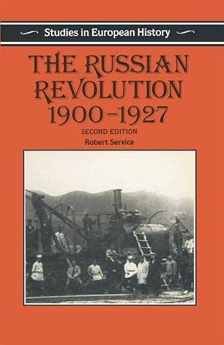 9780333560365: The Russian Revolution, 1900-27 (Studies in European History)