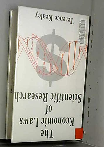 9780333560457: The Economic Laws of Scientific Research