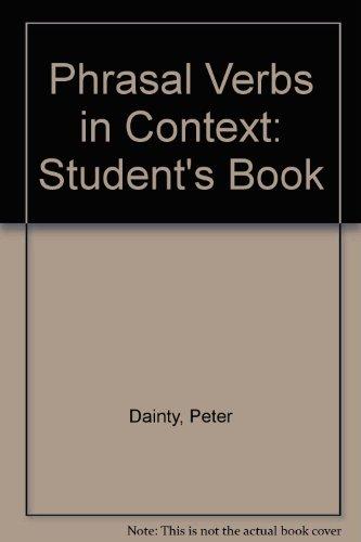 9780333564226: Phrasal Verbs in Context: Students'e