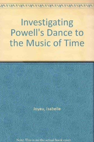 """9780333566169: Investigating Powell's """" Dance to the Music of Time """""""