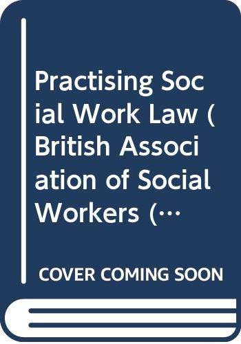 9780333566367: Practising Social Work Law