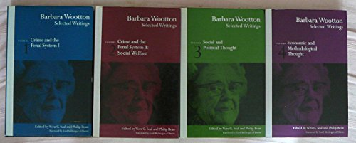 9780333566763: Selected Writings: Crime and the Penal System v.1: Crime and the Penal System Vol 1