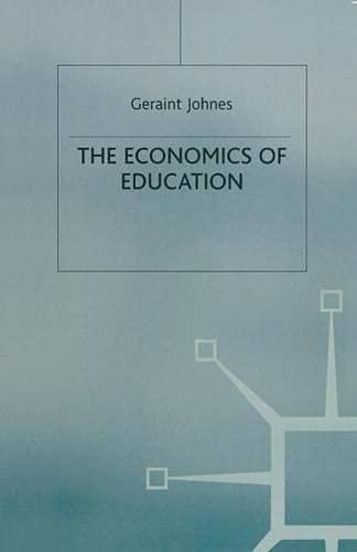 9780333568361: The Economics of Education