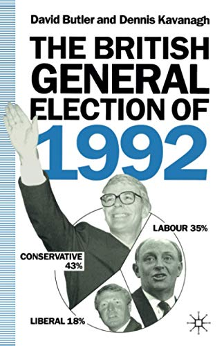 9780333569030: The British General Election of 1992