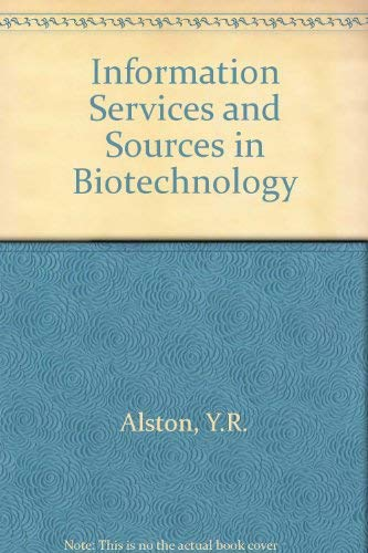 Information Services and Sources in Biotechnology: J. Coombs Y.R.