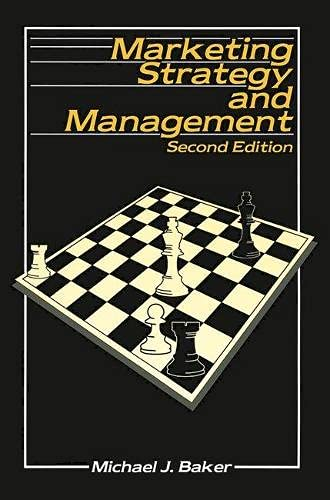 9780333576434: Marketing Strategy and Management