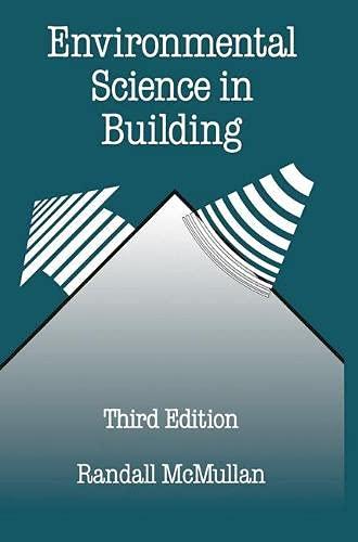 9780333576762: Environmental Science in Building