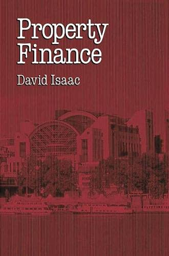 9780333576816: Property Finance (Building & Surveying Series)