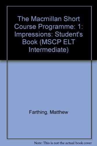 The Macmillan Short Course Programme Level 1: Farthing, Matthew; Pulverness,
